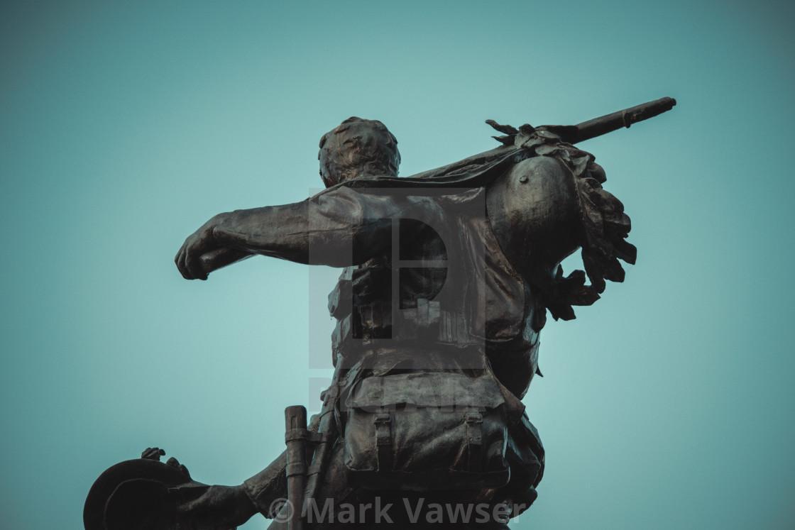 """War memorial Cambridge"" stock image"