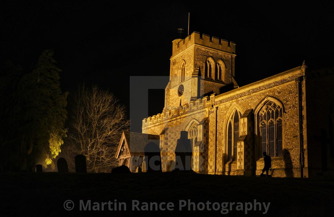 """Marsworth church"" stock image"