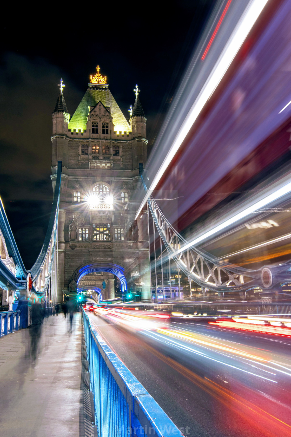 """Long Exposure at Tower Bridge"" stock image"