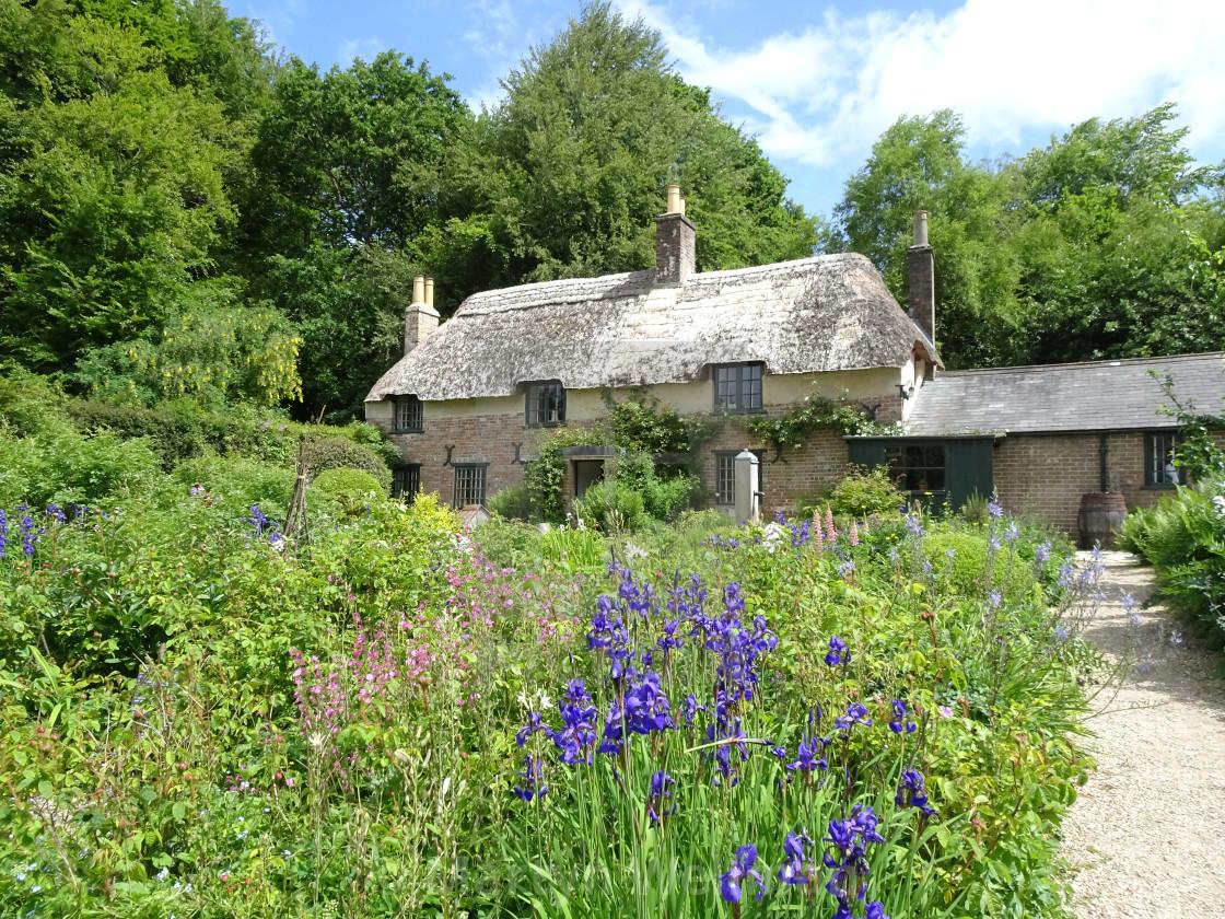 """""""Thomas Hardy's Cottage, Dorset"""" stock image"""