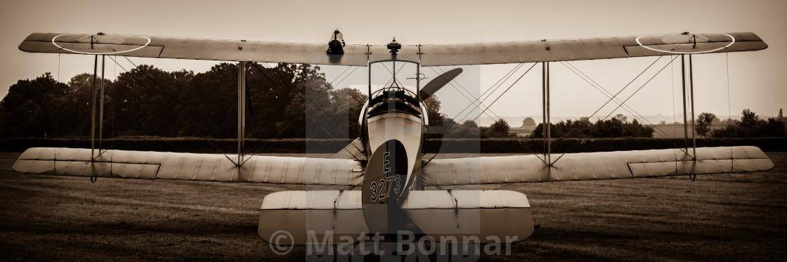 """""""Avro 504K"""" stock image"""