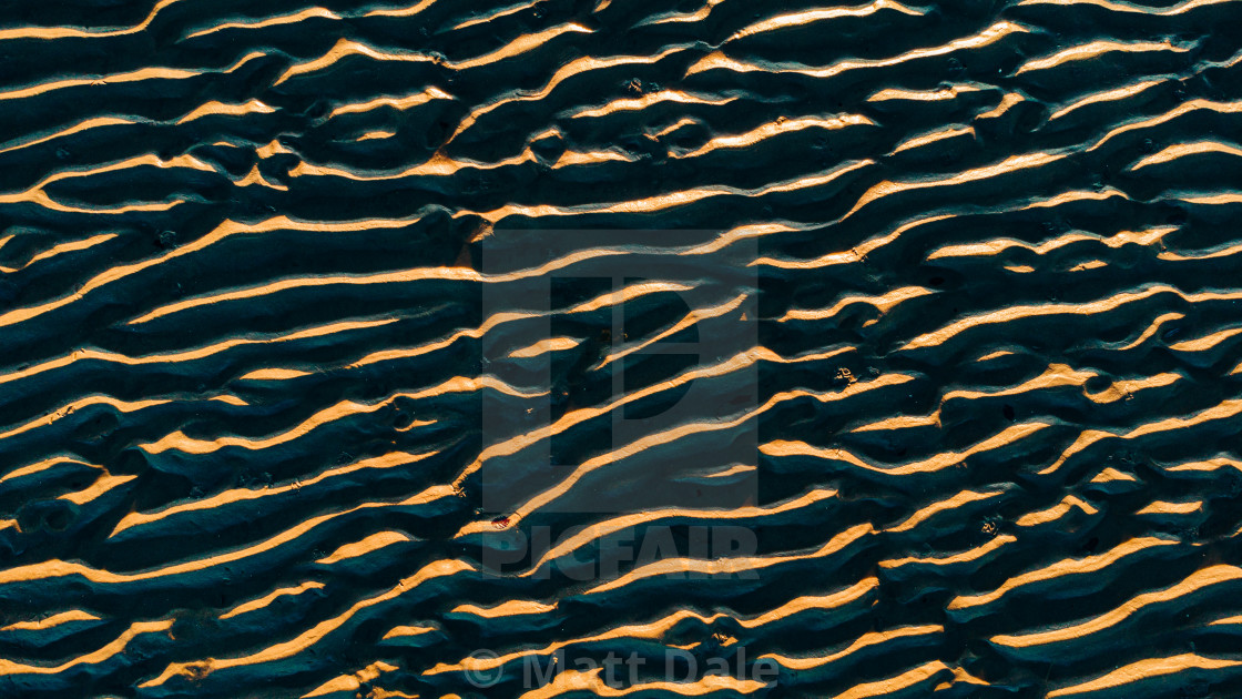 """""""Ripples in the Sand"""" stock image"""