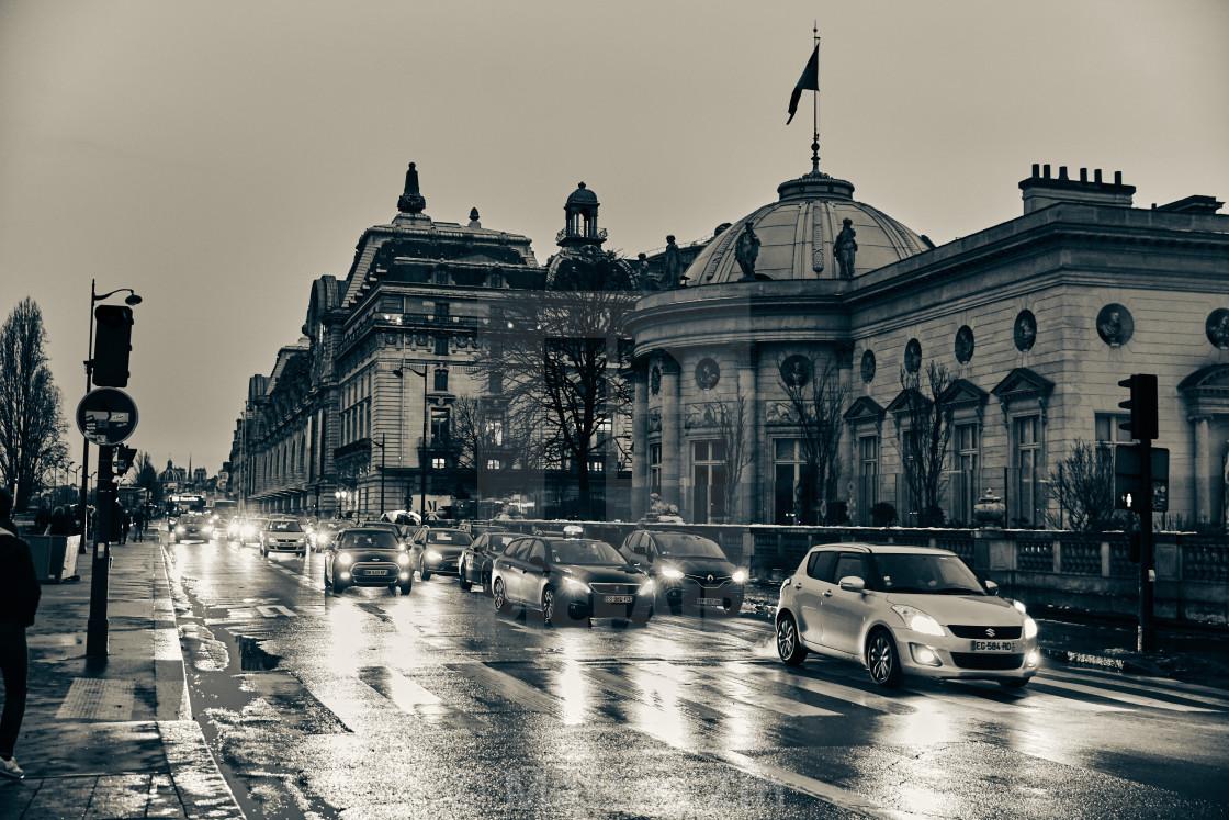 """""""Paris street"""" stock image"""