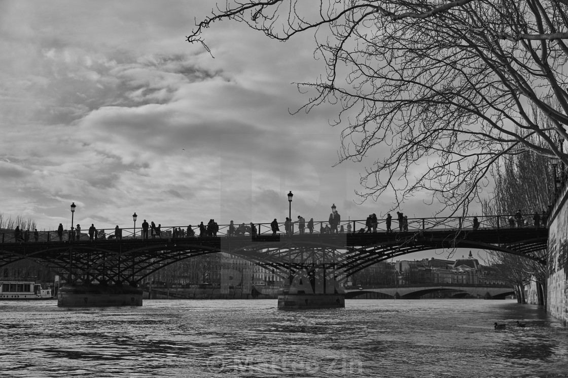 """Pont des arts paris"" stock image"