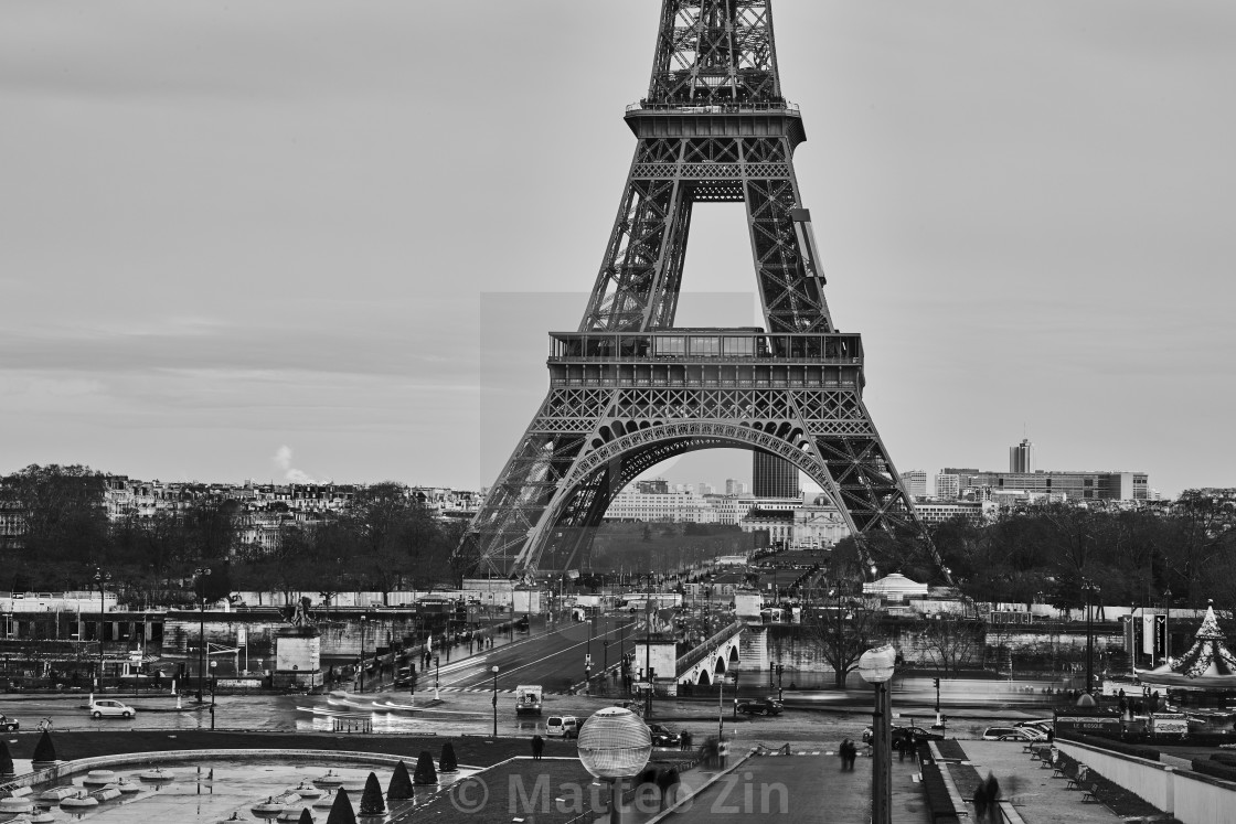 """Tour Eiffel"" stock image"