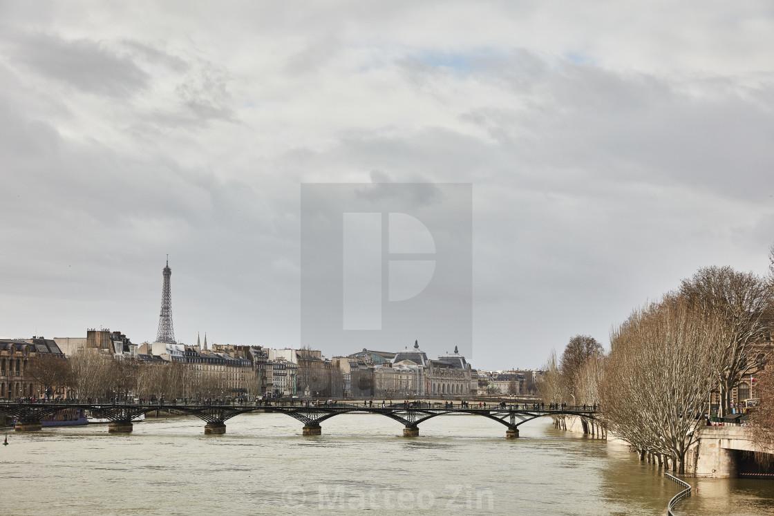 """""""Pont des arts paris"""" stock image"""