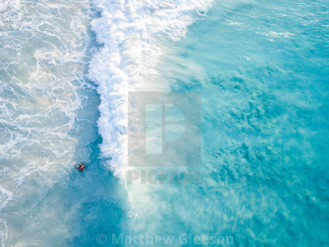"""Wave Crash"" stock image"