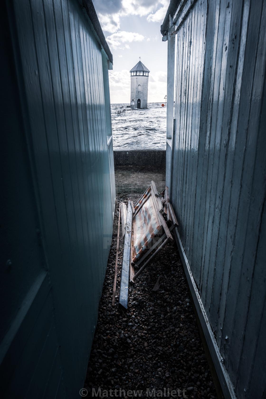 """""""Batemans Tower Brightlingsea"""" stock image"""