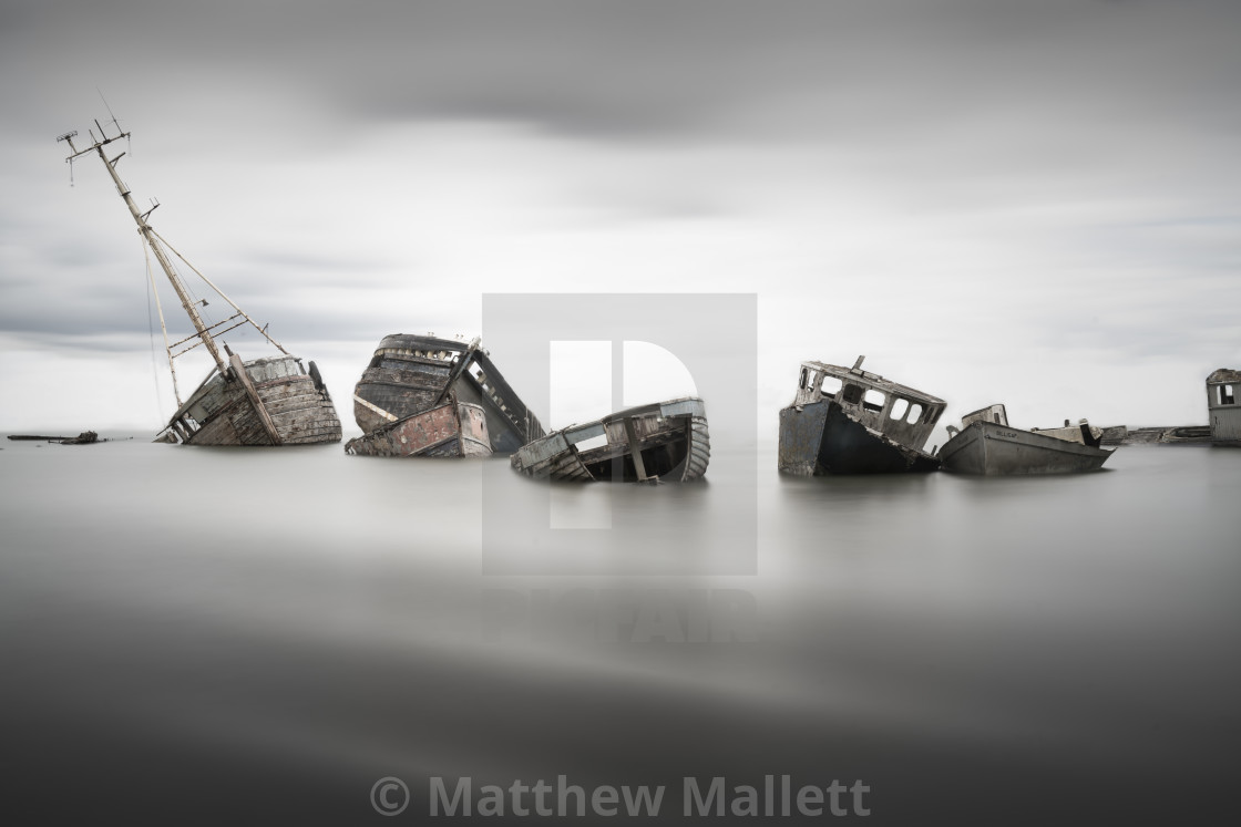 """Pin Mill Resting Place"" stock image"