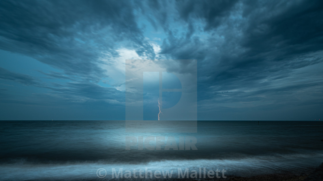"""Lightning Strike It Lucky"" stock image"