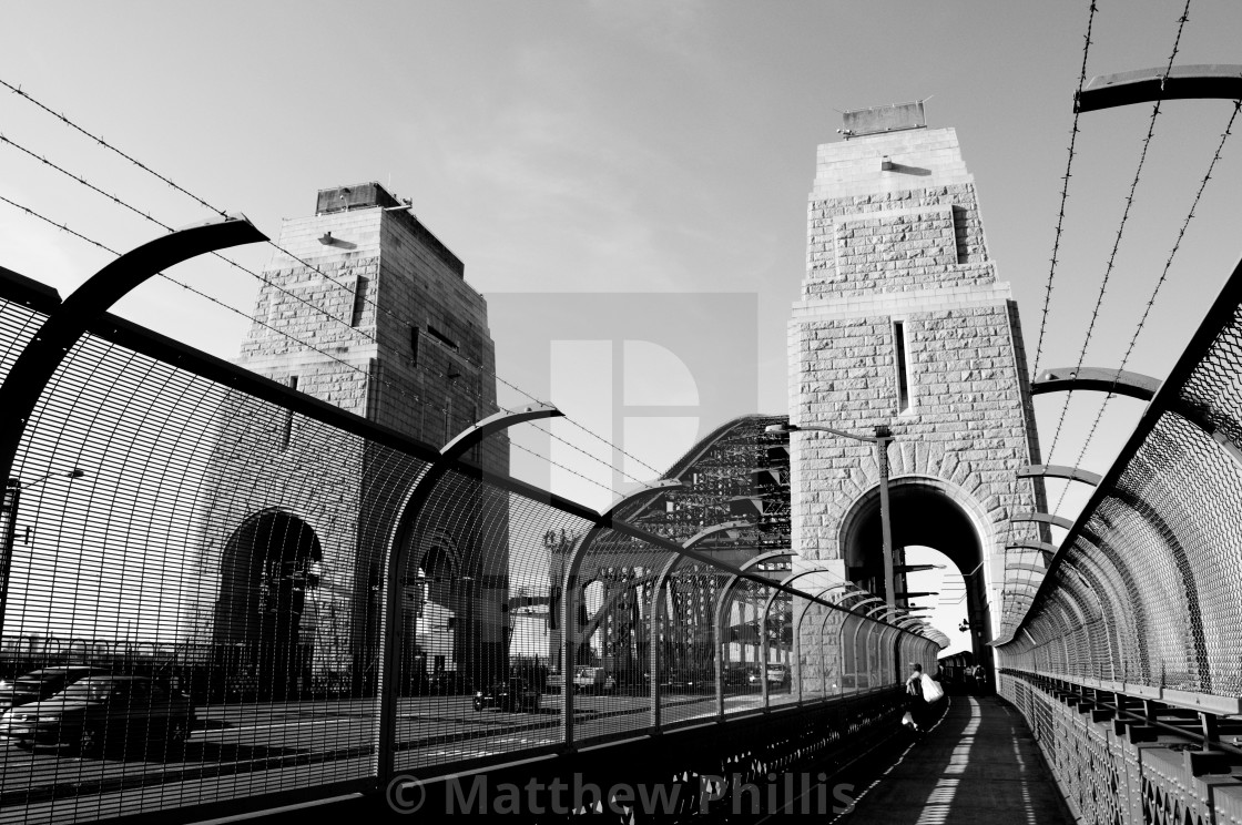 """Iron Bridge"" stock image"