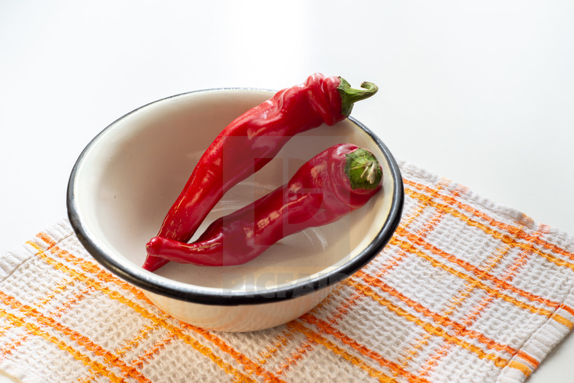 """""""Red Hot Chili Peppers"""" stock image"""