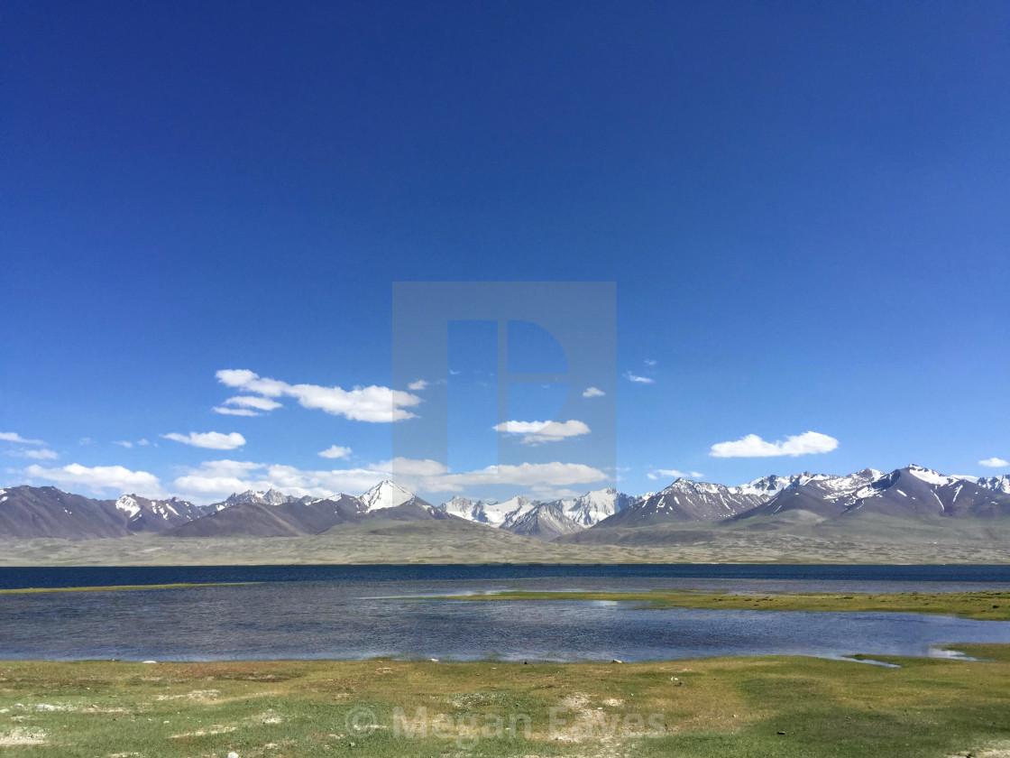 """""""Lake Zorkul"""" stock image"""
