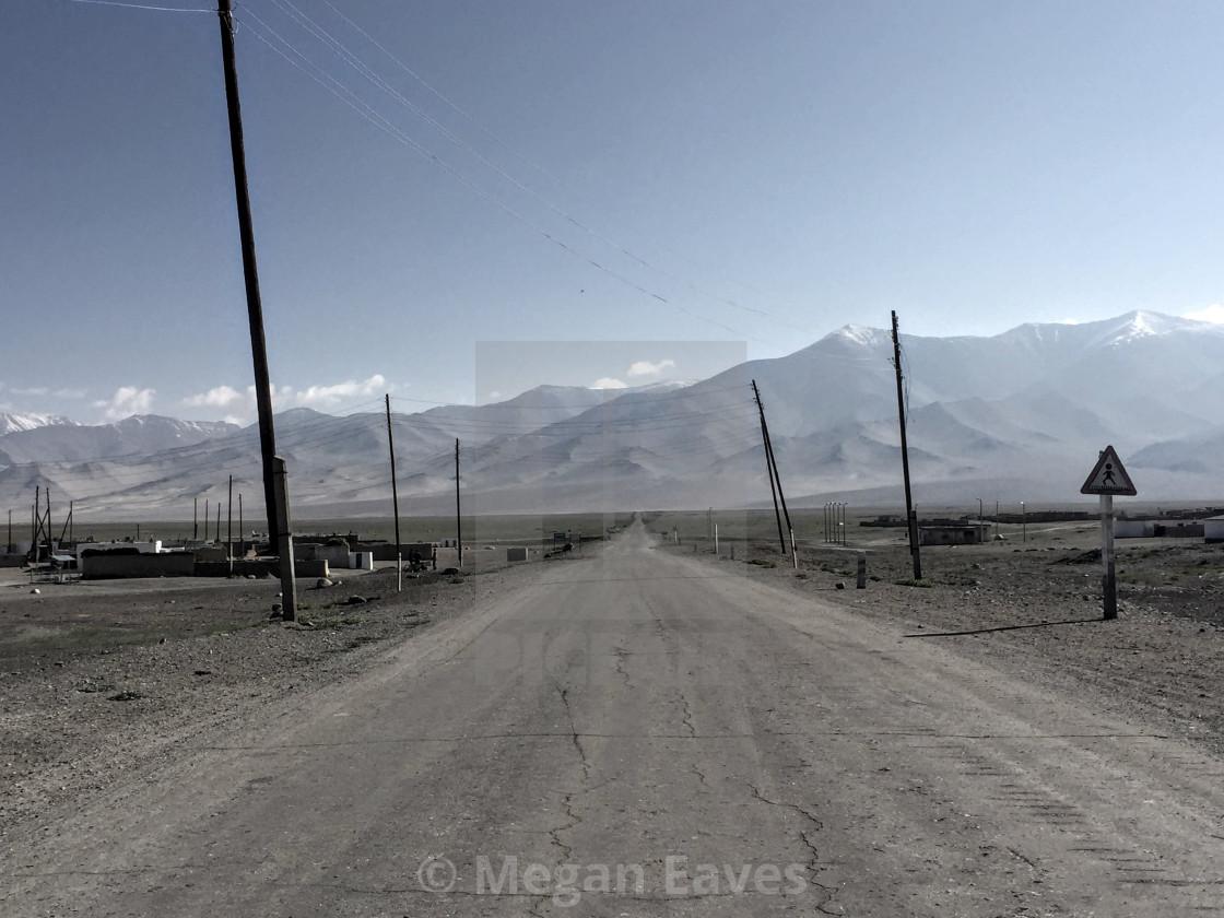 """Pamir Highway I"" stock image"