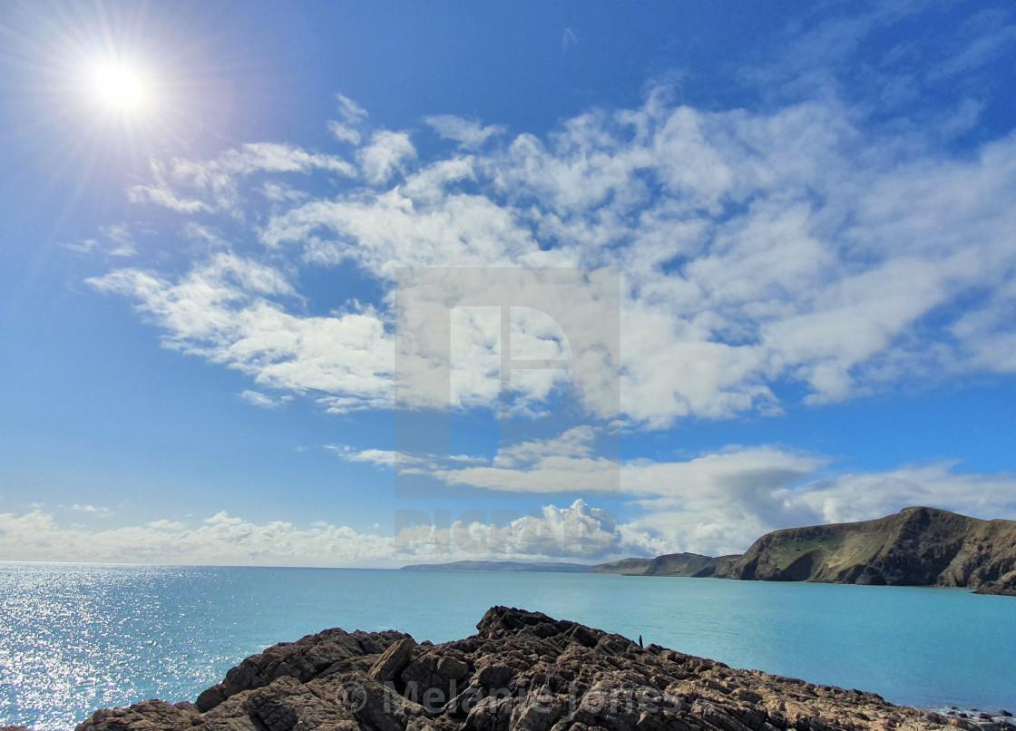 """Fleurieu Peninsula coastline"" stock image"