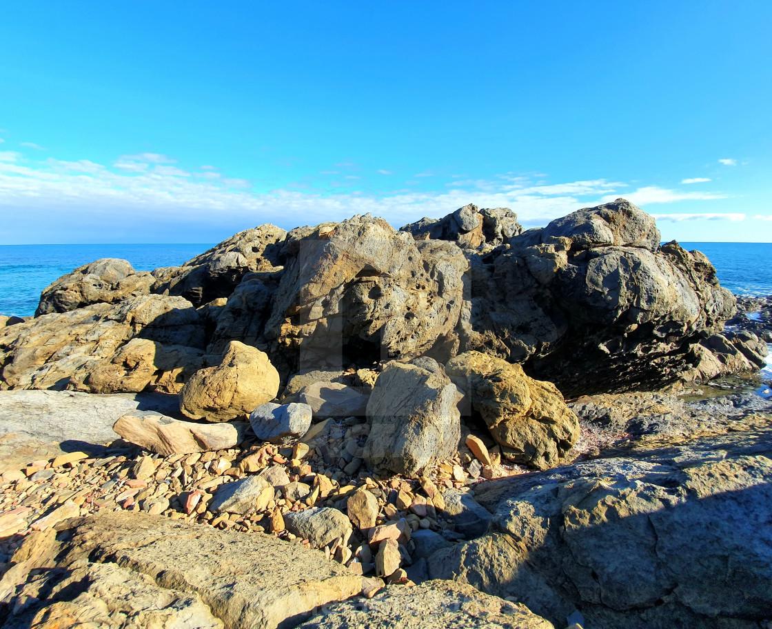"""Rock formation Carrickalinga South Australia"" stock image"