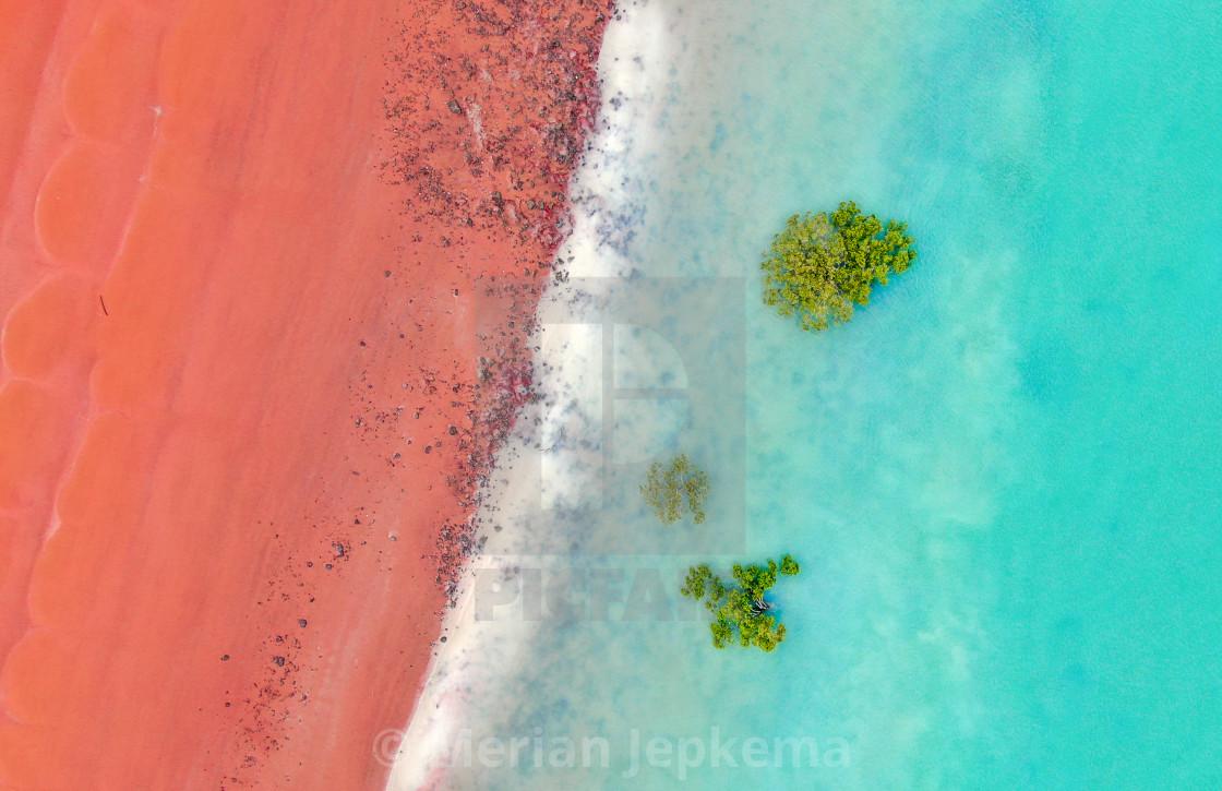 """""""Desert meets ocean"""" stock image"""
