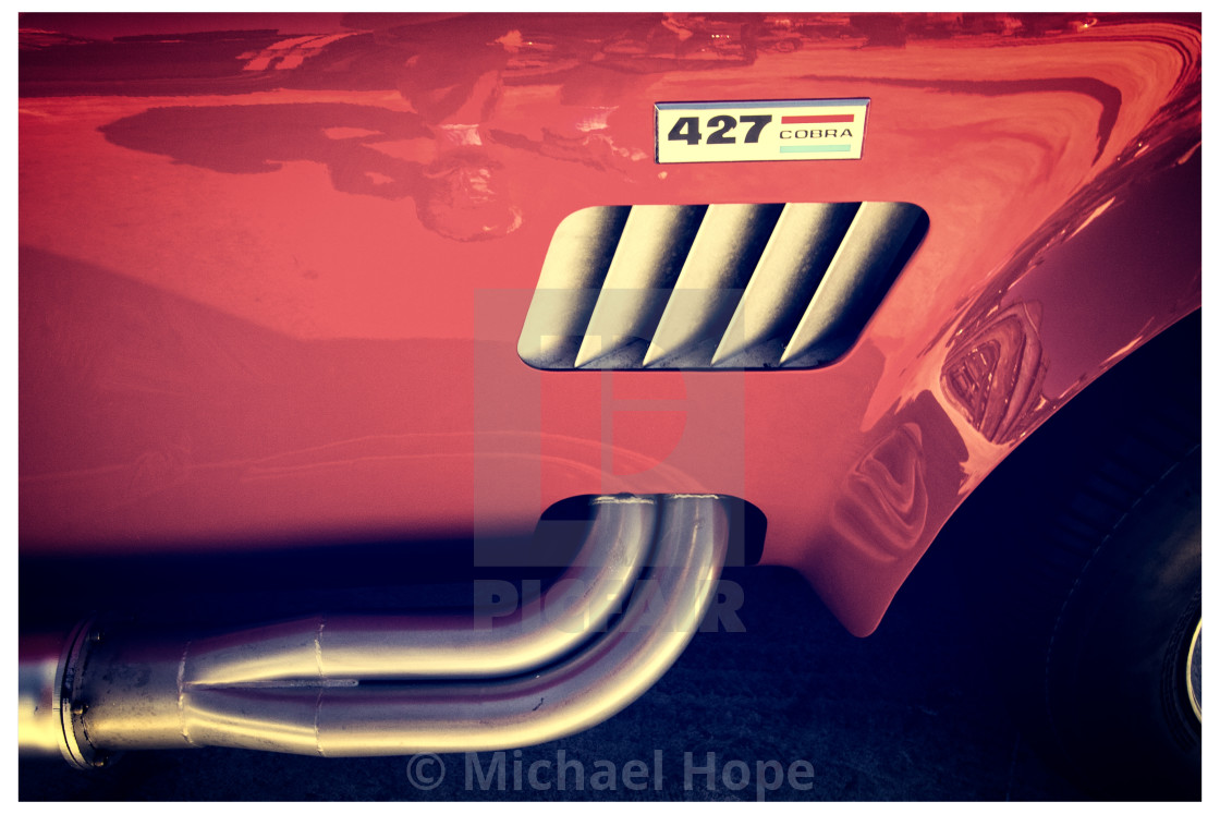 """Cobra 427 by Mike-Hope"" stock image"