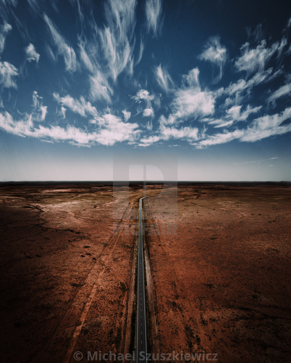 """""""The Barrier Highway"""" stock image"""