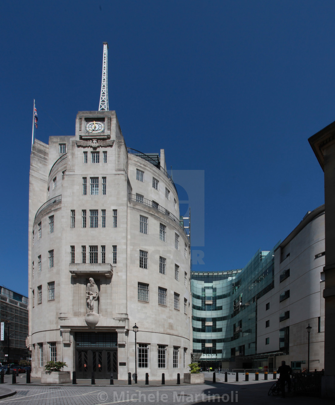 """Broadcasting House"" stock image"