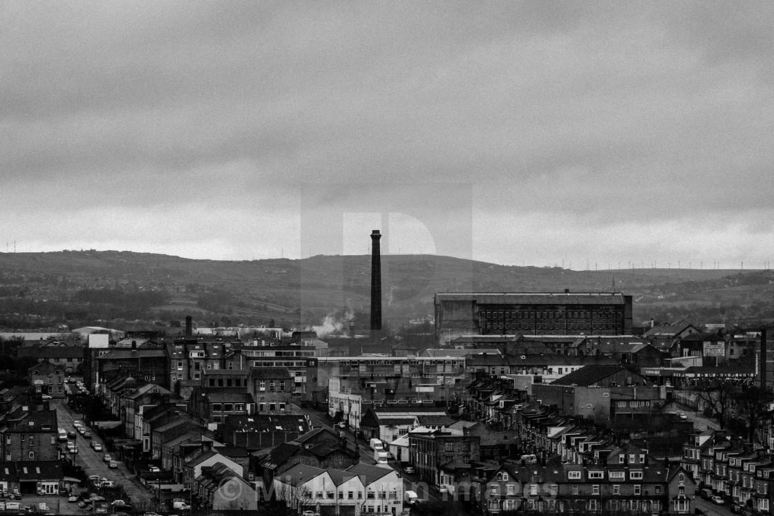 """Drummond Mill, Bradford, West Yorkshire"" stock image"