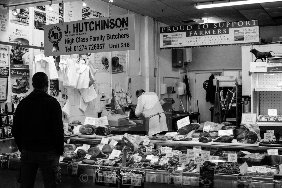 """""""An image from my series 'Monochrome Mill Town', black and white studies of..."""" stock image"""