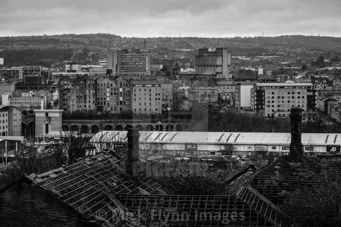 """""""Wapping Road School, Bradford, West Yorkshire"""" stock image"""