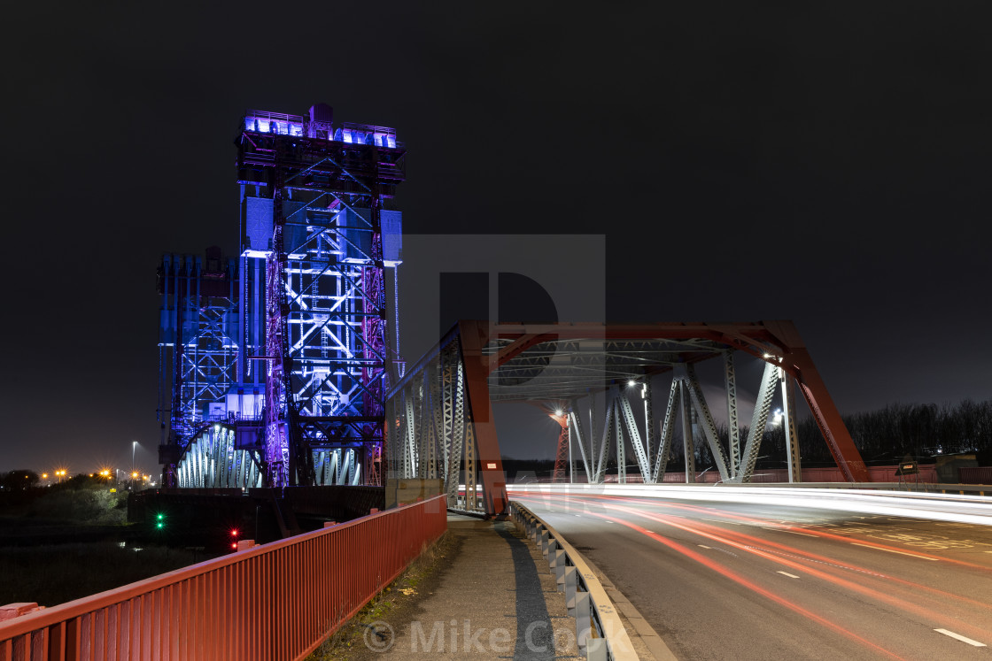 """Newport Bridge"" stock image"