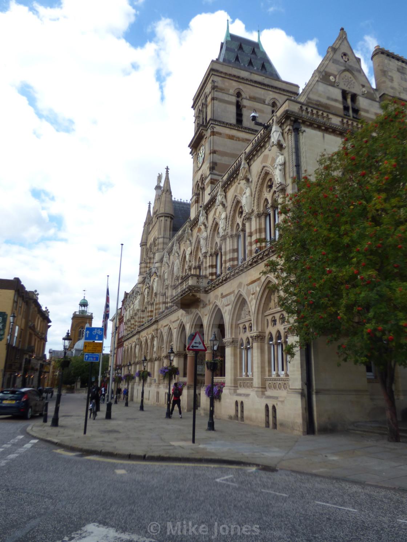 """""""Northampton Guildhall"""" stock image"""