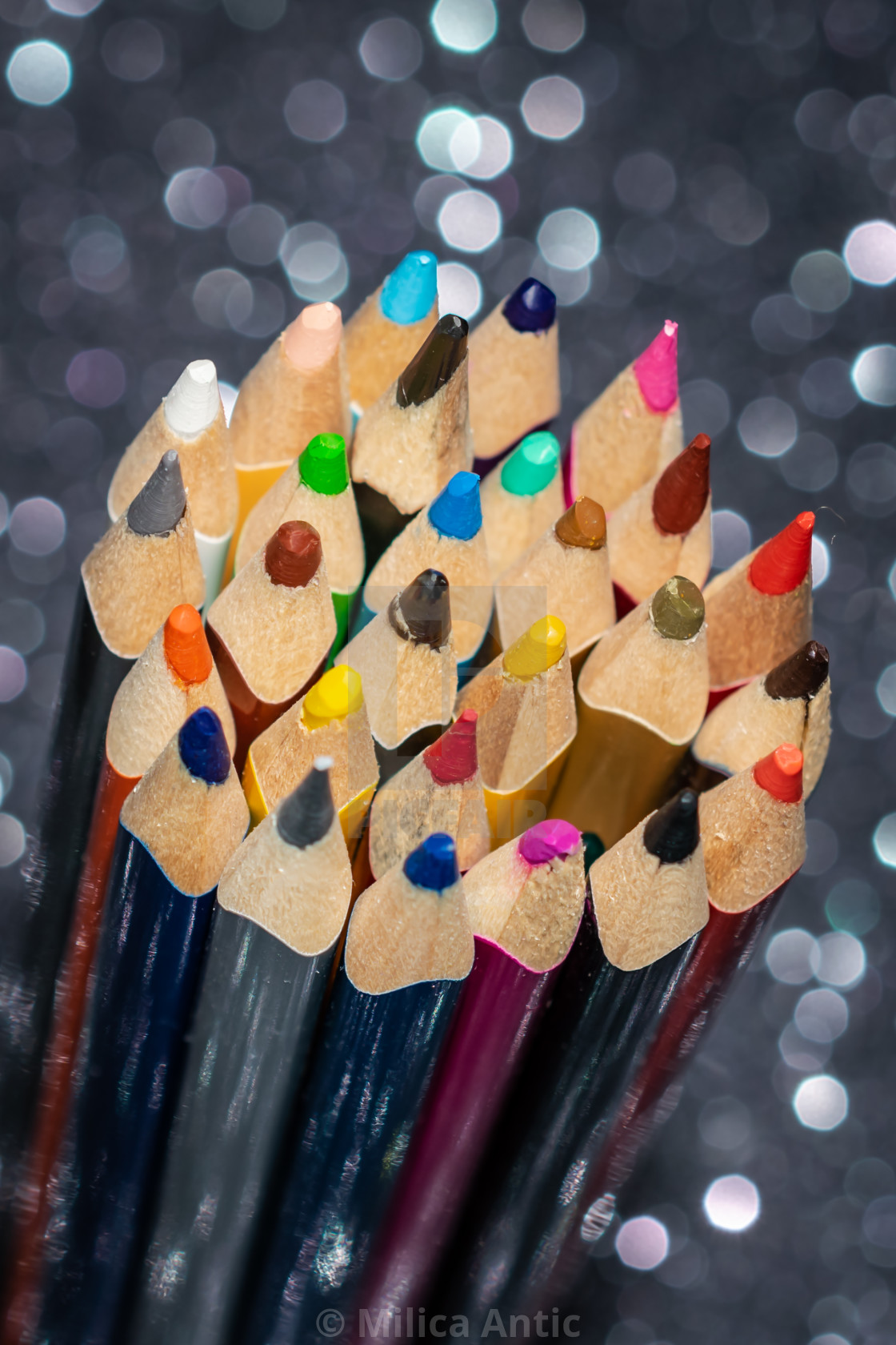 """Colored pencils 1"" stock image"