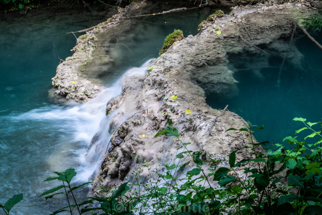 """Bigar waterfall, Serbia"" stock image"