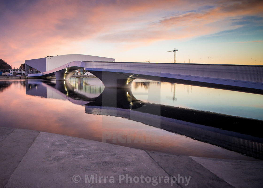 """""""Mandal in the evening"""" stock image"""