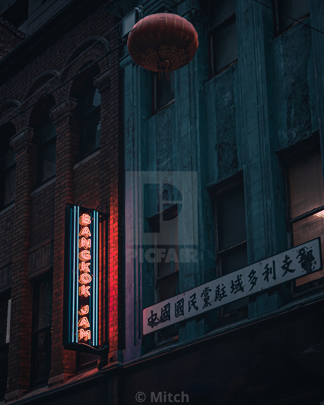 """China Town"" stock image"