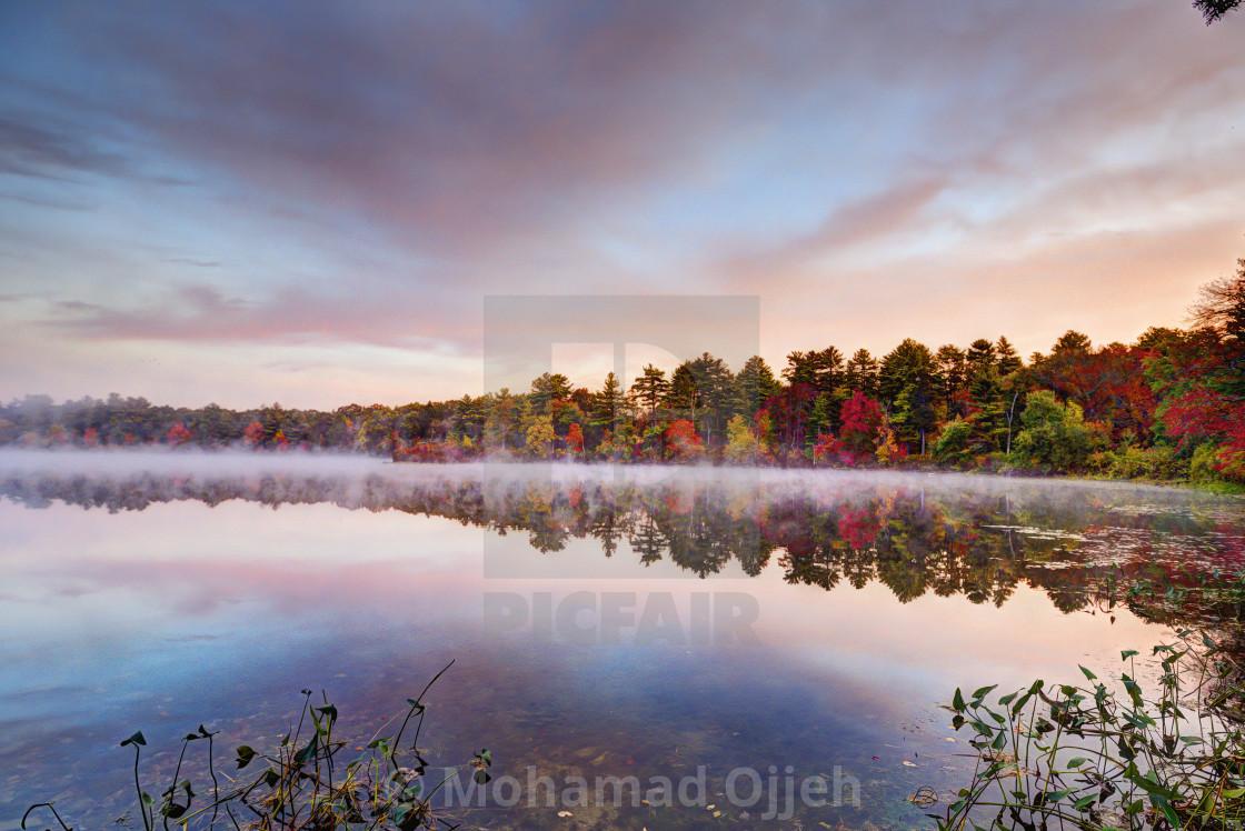 """""""New-England Fall"""" stock image"""