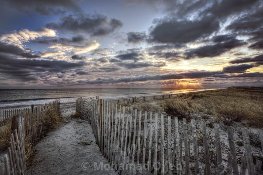 """""""Sunrise Duxbury"""" stock image"""