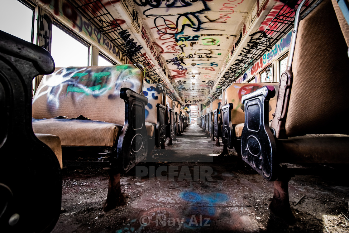 """Train car"" stock image"