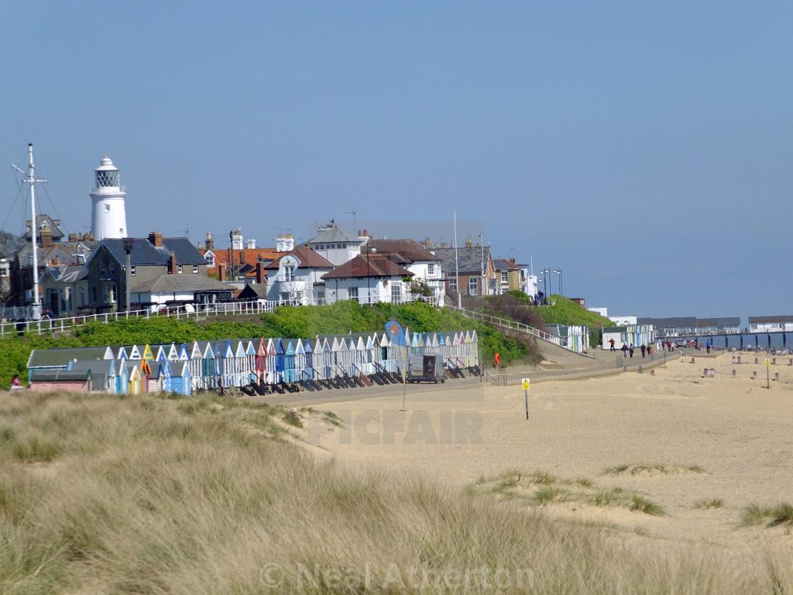 Southwold Suffolk Beach Huts