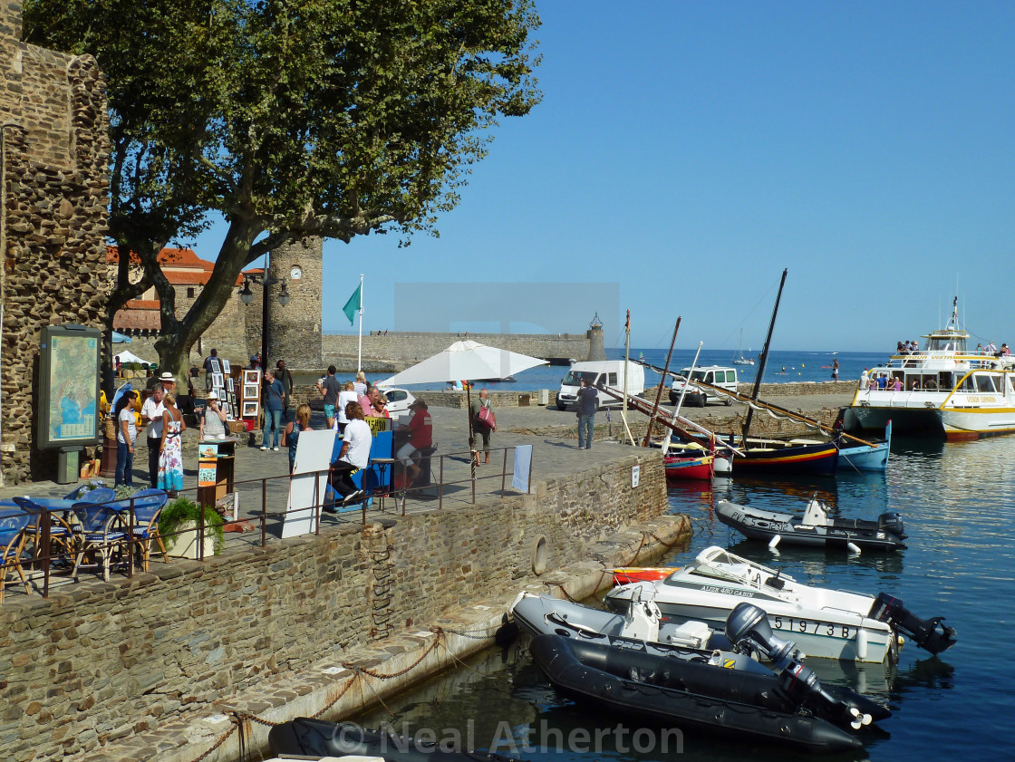 Collioure harbour South of France