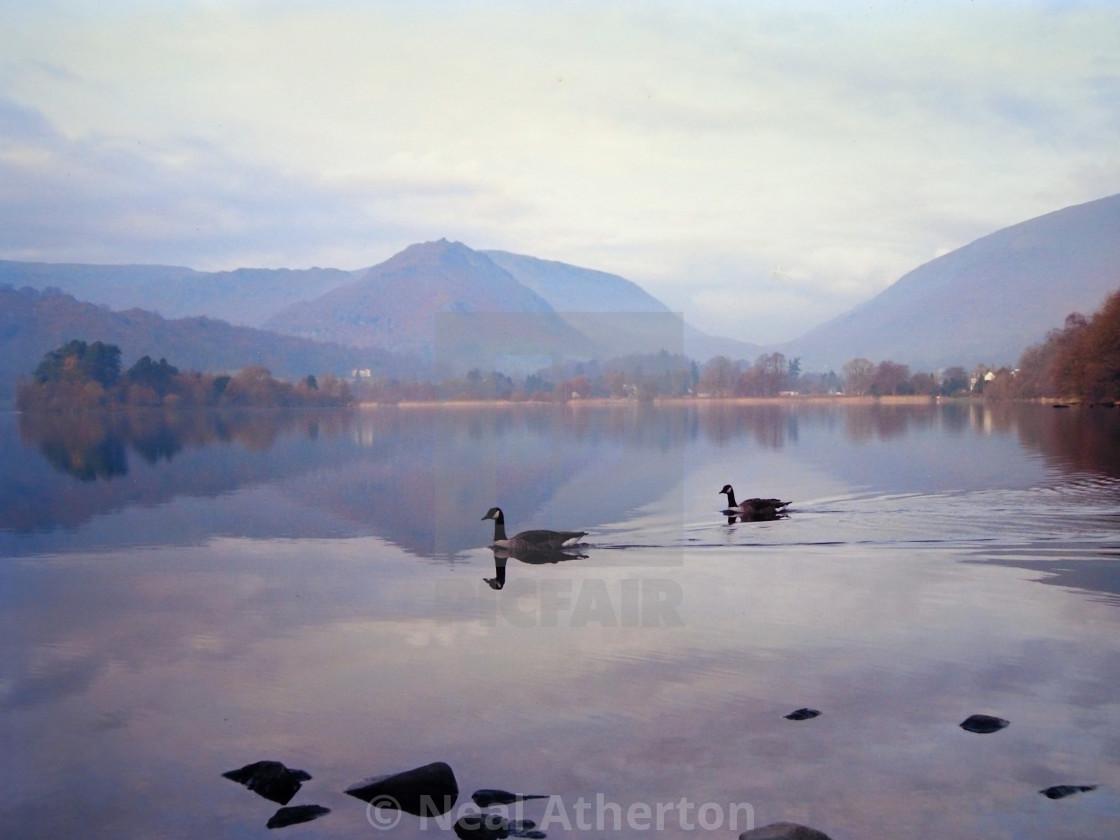 Lake at Grasmere in the English Lake District