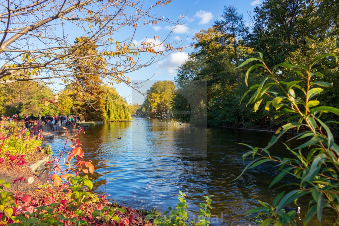"""Autumn in London"" stock image"