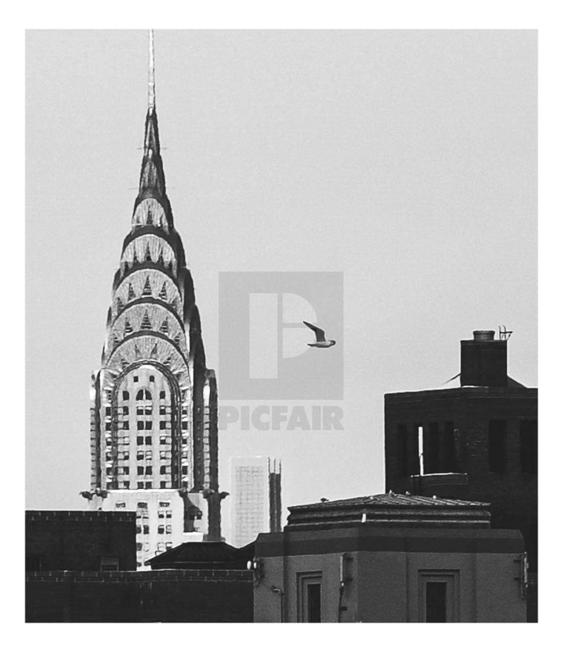 """Chrysler Building"" stock image"