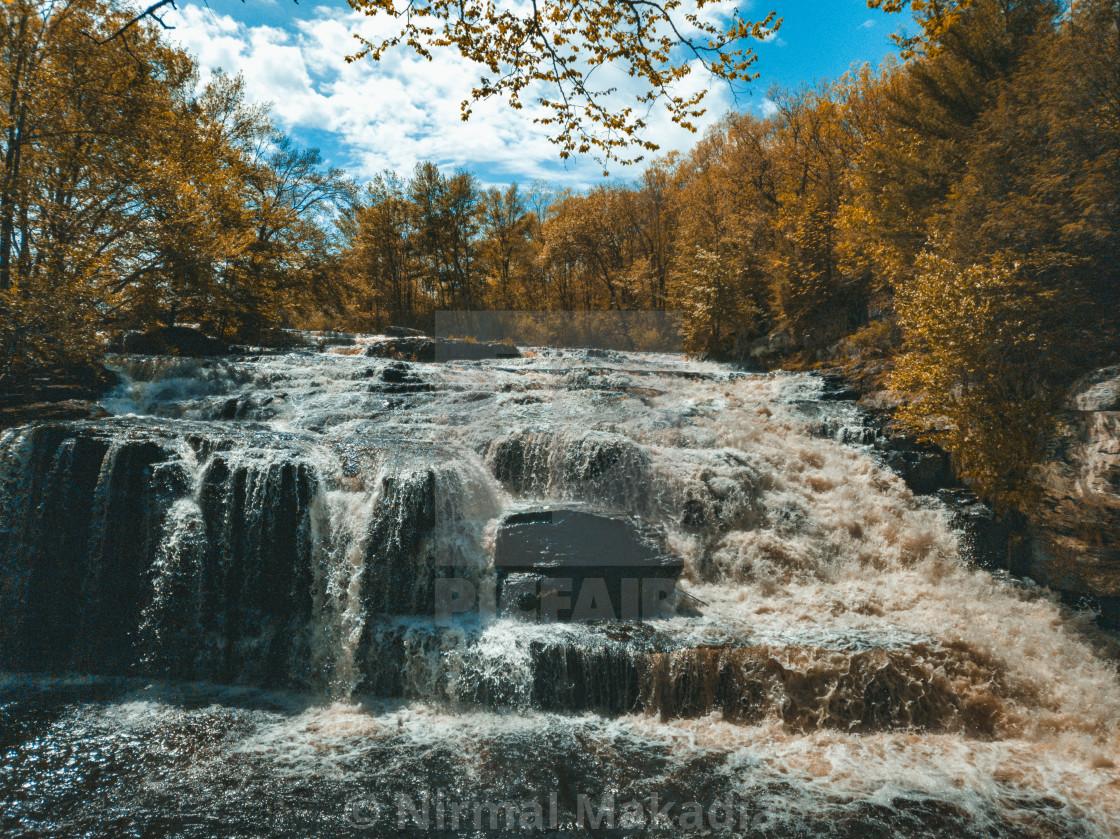 """Shohola Falls"" stock image"
