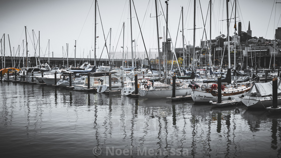 """""""SF Marina"""" stock image"""