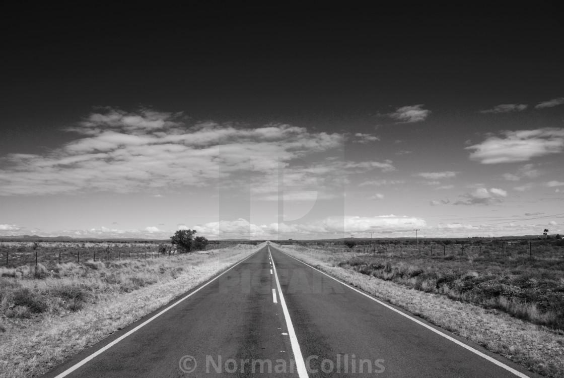 """Karoo Road"" stock image"