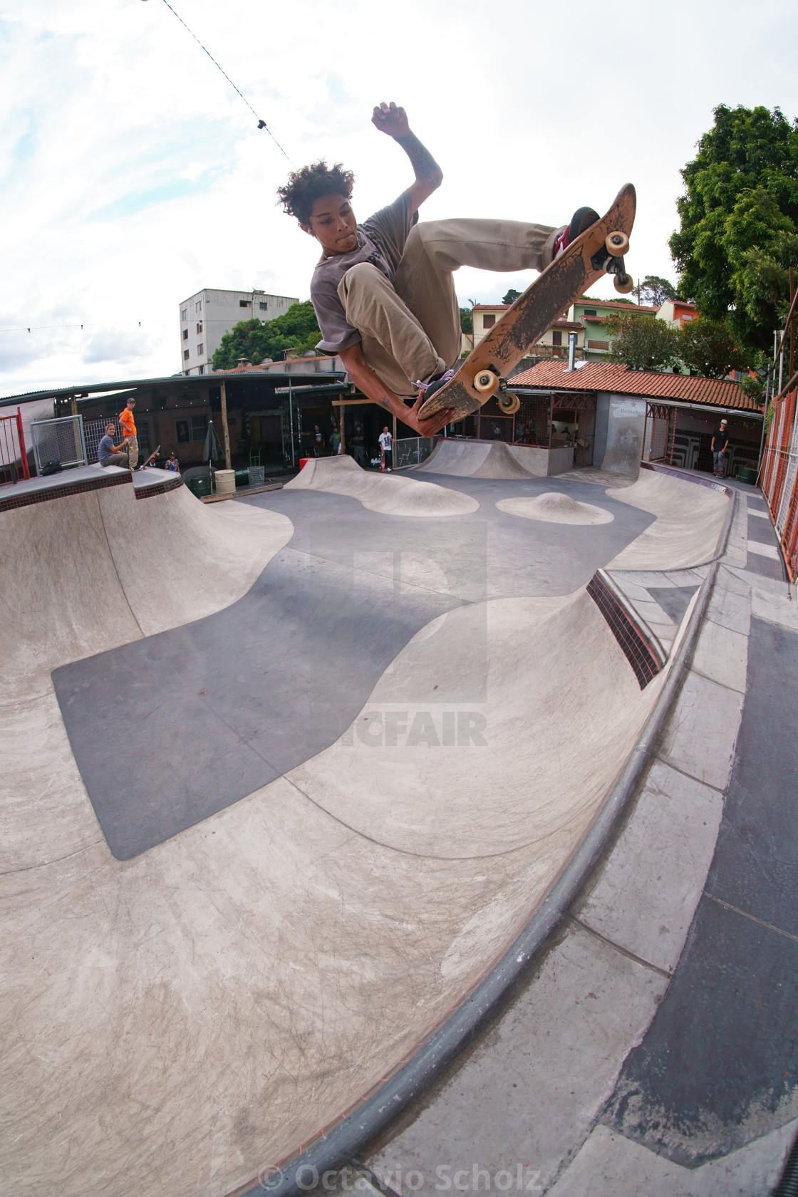 """""""Tailgrab to Fakie"""" stock image"""