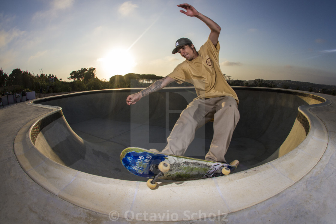 """""""Feeble Grind"""" stock image"""