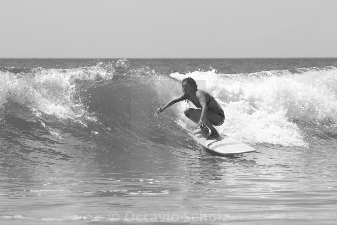 """Surf Girl"" stock image"
