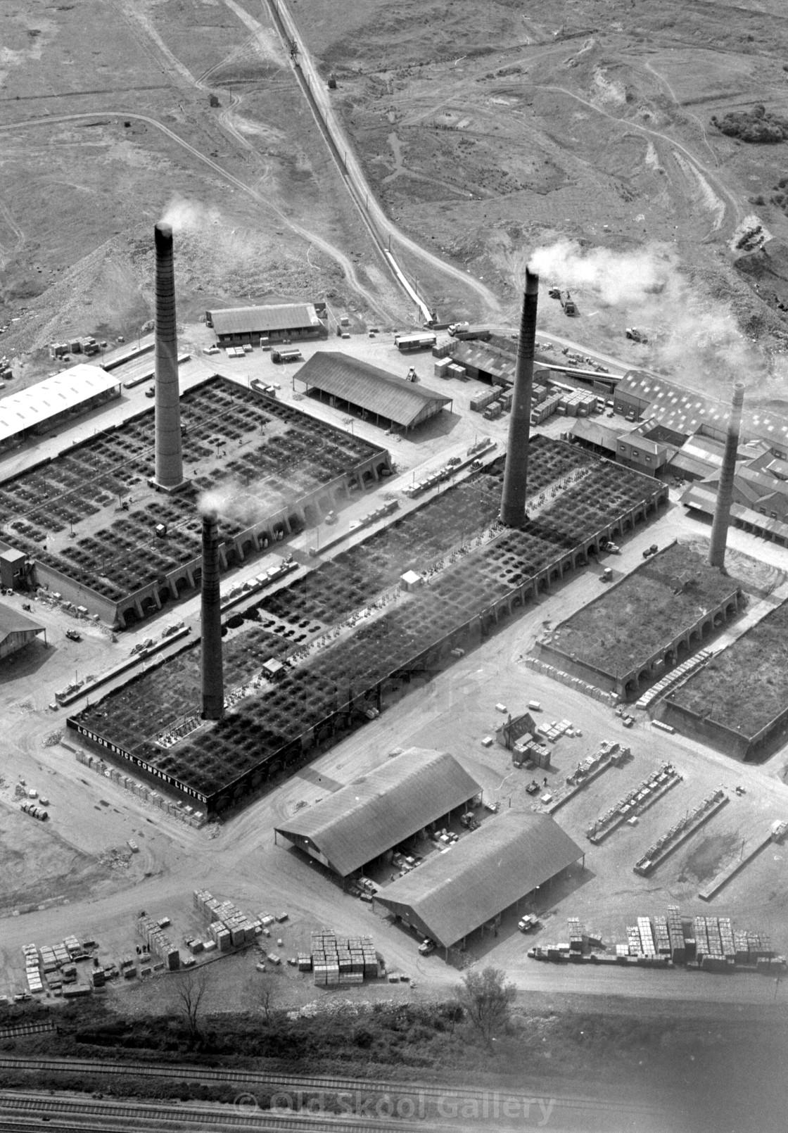 Beebys Brickworks, Yaxley (1982)