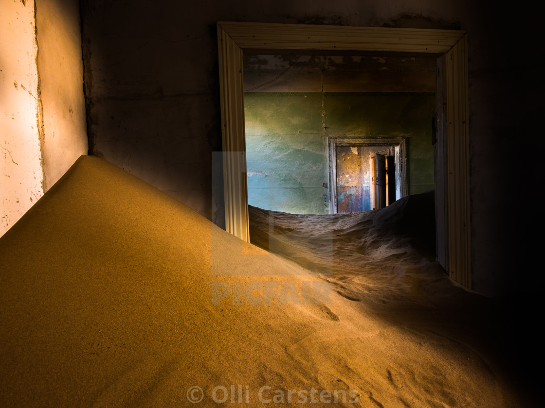"""Ghost City in Namib Desert"" stock image"