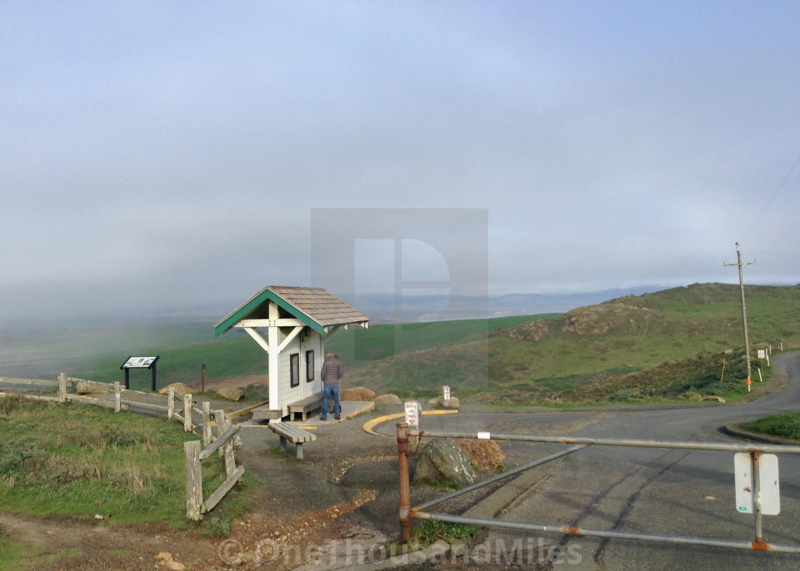 """Point Reyes National Seashore (5x7) California Coast"" stock image"